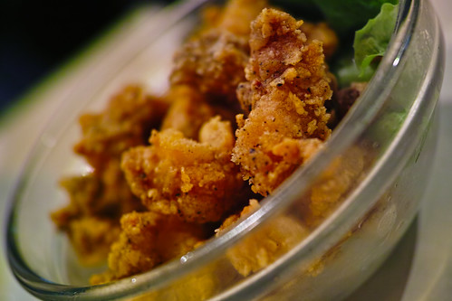 Fried chicken cartilage