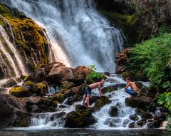 Up the Falls I