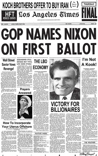 CONVENTION HEADLINE by Colonel Flick