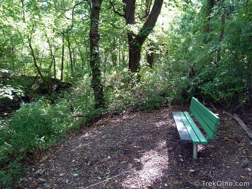 Bench  in Gahanna Woods City Park