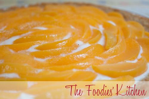Peach Yogurt Icebox Pie