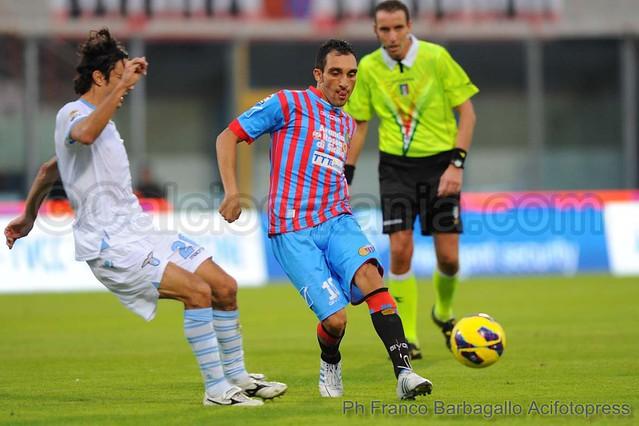 Calcio, Coppa Italia: Lazio-Catania 3-0$