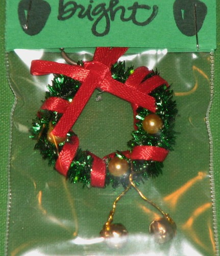 Ink Stains Altered Christmas Charm Swap 024