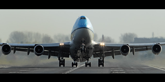 Ph bfa klm 747 taking off from eham schiphol by nustyr airteamimages