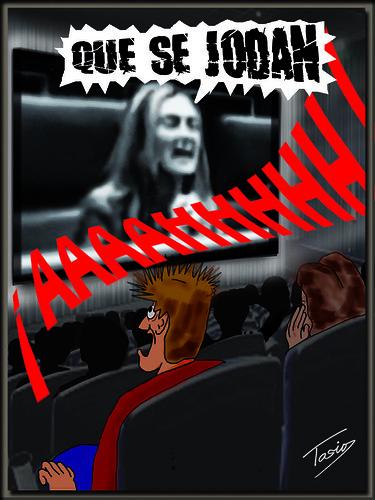 ¡Uy que miedo!