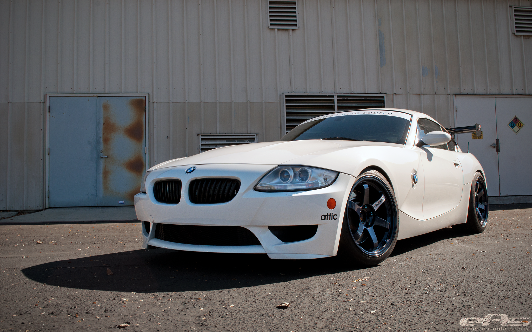 Mag Blue Te37sls On Our Z4m Bmw Performance Parts Amp Services