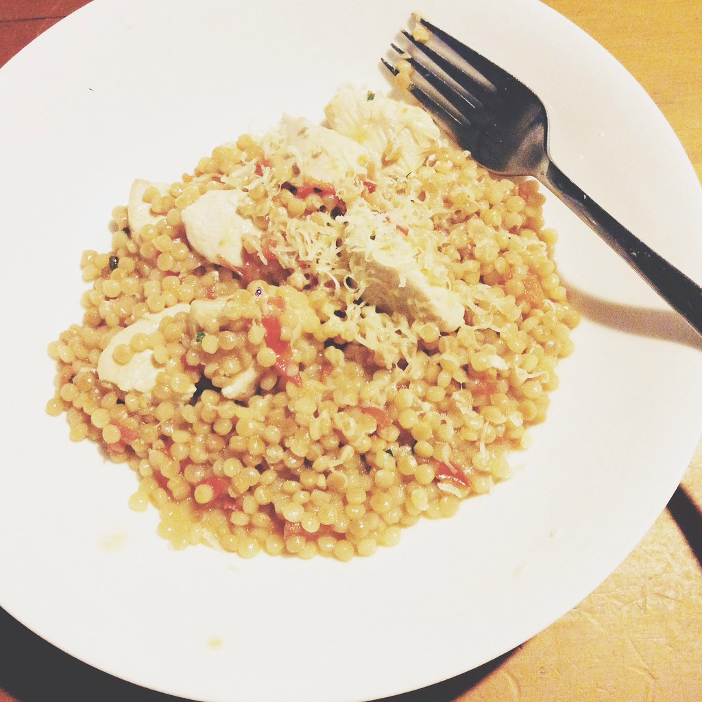 "Pearl Cous cous ""risotto"""