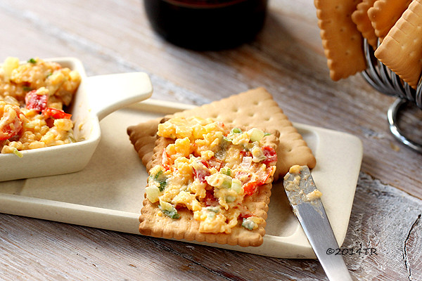 甜椒乳酪醬 Pimiento cheese-20140416