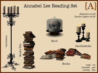 {A} Annabel Lee Reading Set Gacha