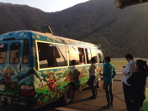 UTMFボランティア ケータリングカー