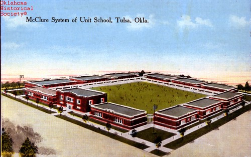 Tulsa school unit plan conceptual drawing