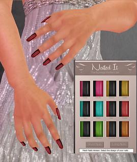 Nailed-it Nails set with HUD