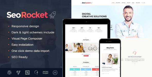 Seo Rocket v1.0.1 - SEO & Marketing WordPress Theme