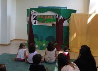 Teatro infantil (2) co CS de Educación Infantil do IES Chapela