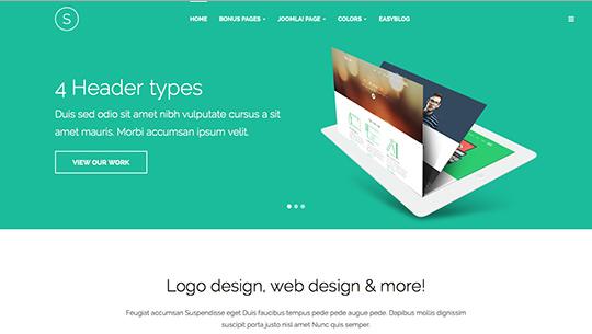 JA Sugite v1.1.4 - Responsive Joomla 3.x Template For Designer Portfolio