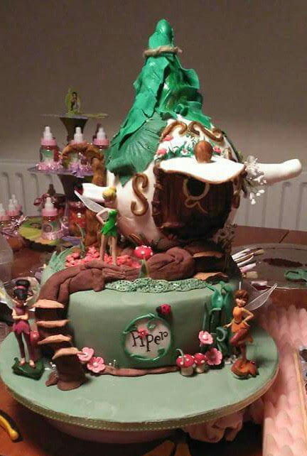 First Birthday Tinkerbell by Jiezl Quiñaso of A piece of Cake UK