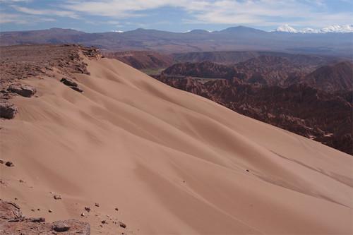 large dune in Valle de la Muerte