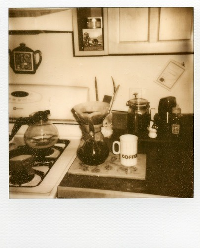 polaroid - coffee