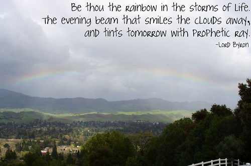 be thou the rainbow