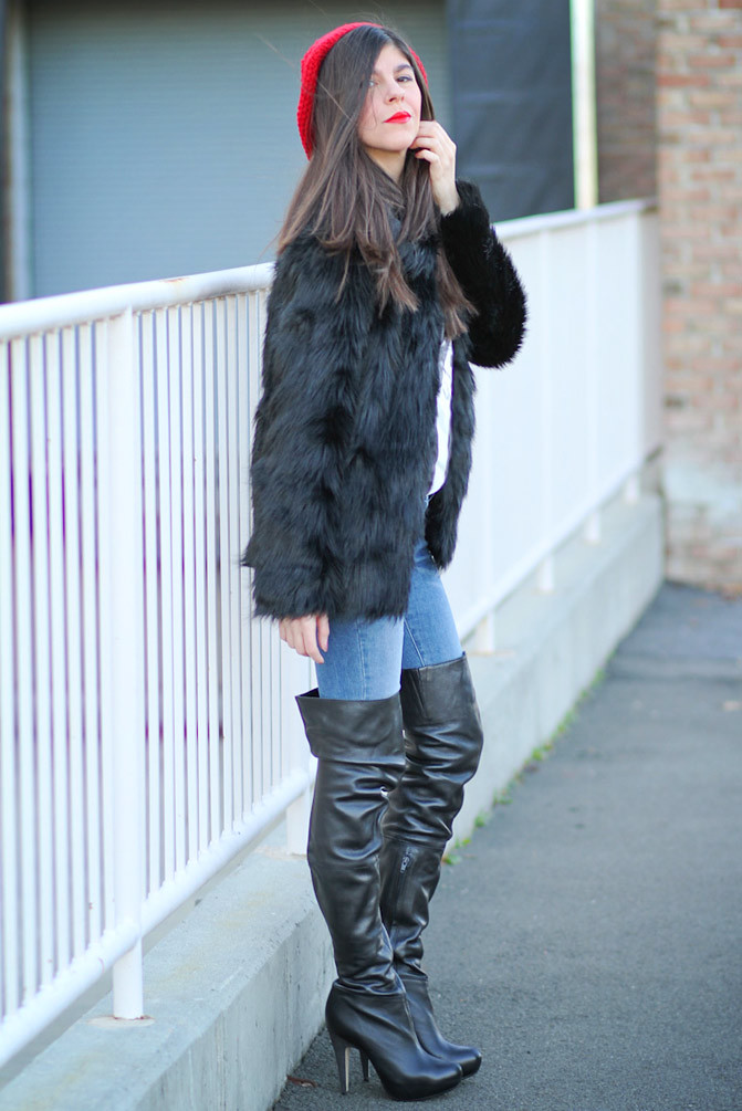 Topshop, Kate Moss, Pretty Woman, Fashion, fur coat