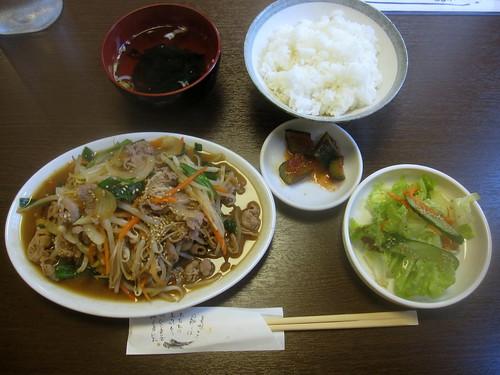 プルコギ定食@パクちゃん家(江古田)