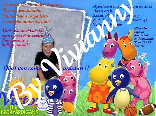 Vitinho novo convite 11/04/12 5 by Vivianny Arte e Cia