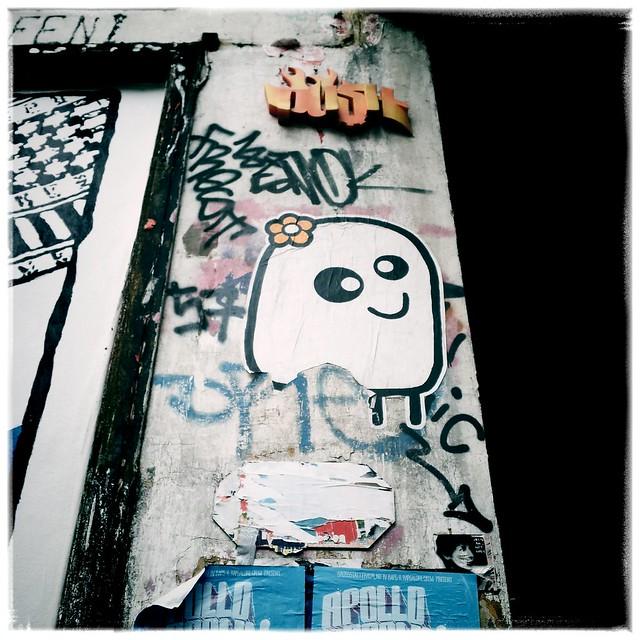Streetart Kartoffeltierchen Hamburg