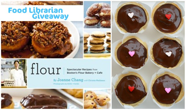 Flour cookbook giveaway for National Library Week