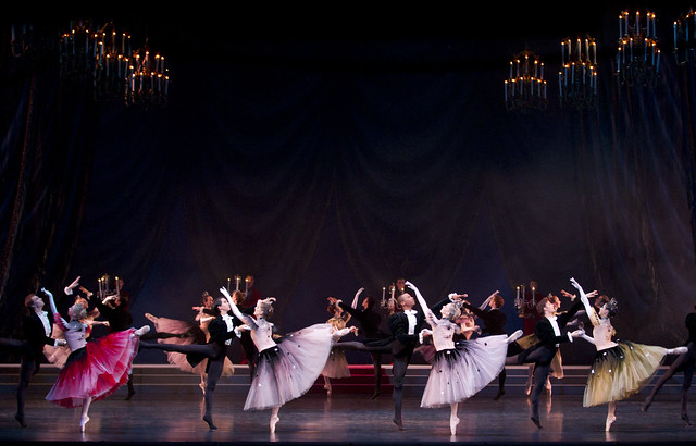 Members of The Royal Ballet in La Valse © Johan Persson/ROH 2010