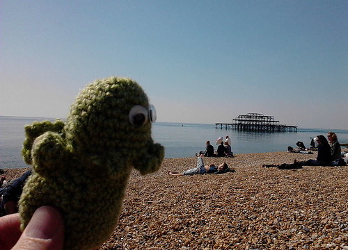 The Great Cthulhu goes to the beach