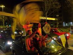 Autokorso am Wallring in Dortmund: Schwarz-Gelber Jubel zur Deutschen Meisterschaft 2012