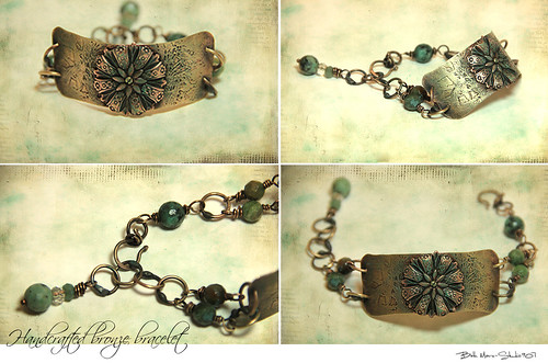 Handcrafted Bronze Bracelet by jpbeth