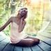 illuminated girl by David Olkarny Photography