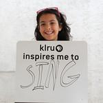 KLRU inspires me to ... sing