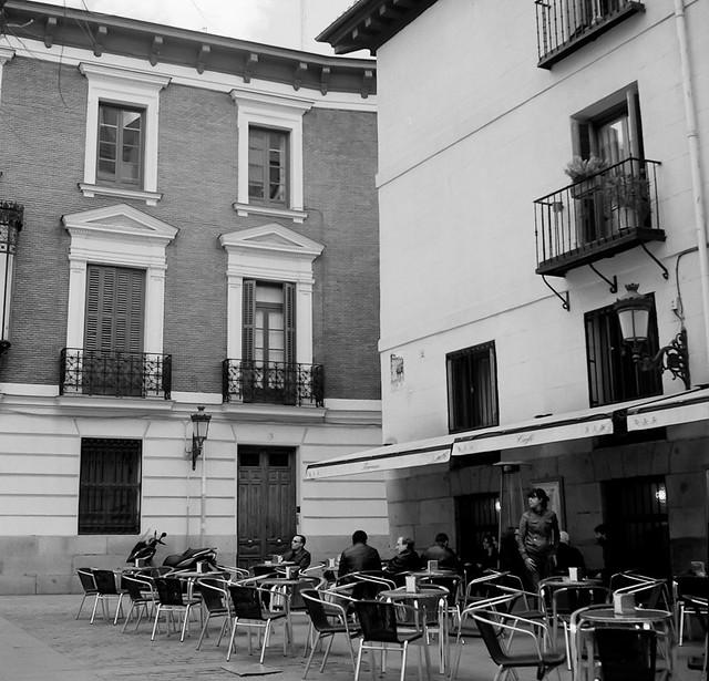 Madrid Plaza del Conde de Barajas