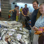 Plenty of choice on Pula fishmarket
