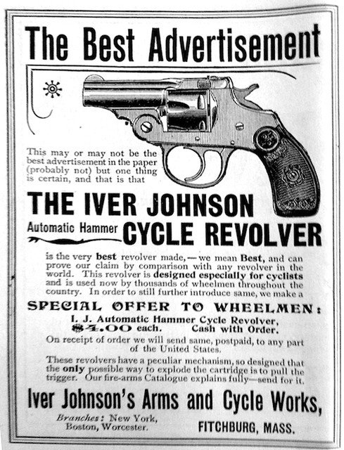 Iver Johnson Cycling Revolver