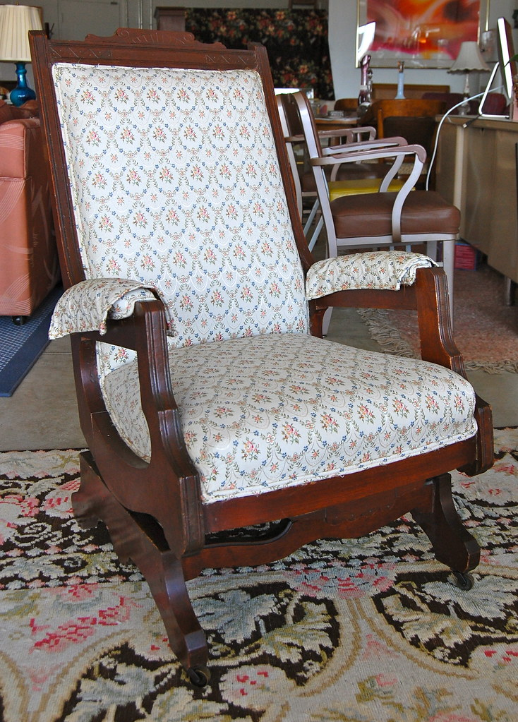 100% authentic cc27b 5dab9 SOLD!Eastlake style rocking chair   Great Eastlake rocker in ...