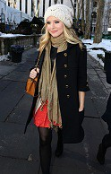 Kristen Bell Beanie Hat Celebrity Style Women's Fashion