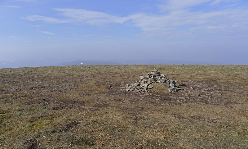 Summit cairn of Mullach Clach a' Bhlair
