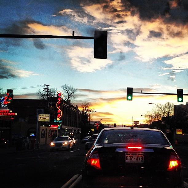 Sunset on Colfax