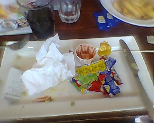 remains of mexican burger