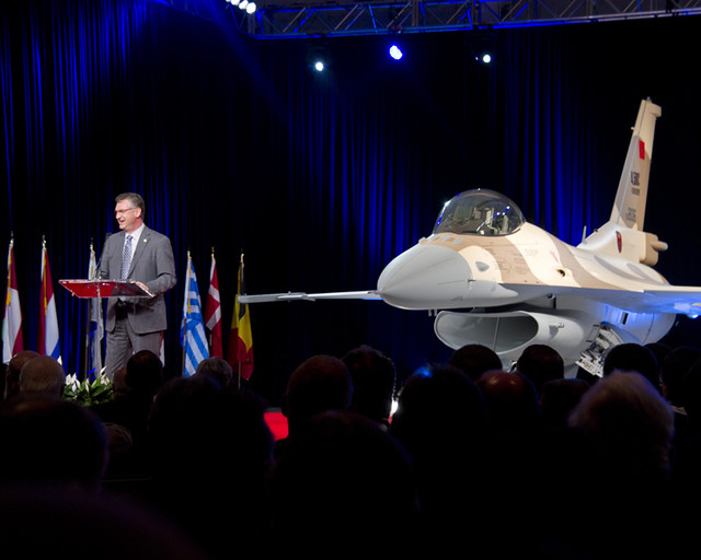4500 F-16 Delivery Ceremony