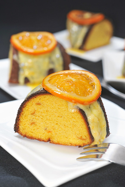 Gateau Clementines Juice And Cake