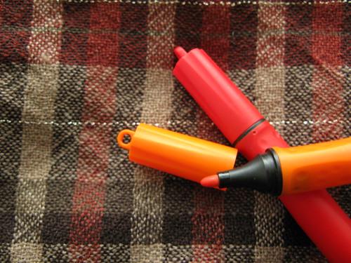 Stabilo Cappi felt tip pens