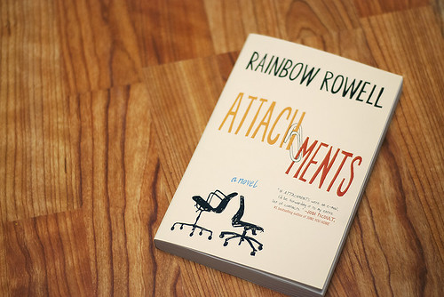 Won a copy of Attachments from Rainbow Rowell