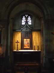 north transept altar