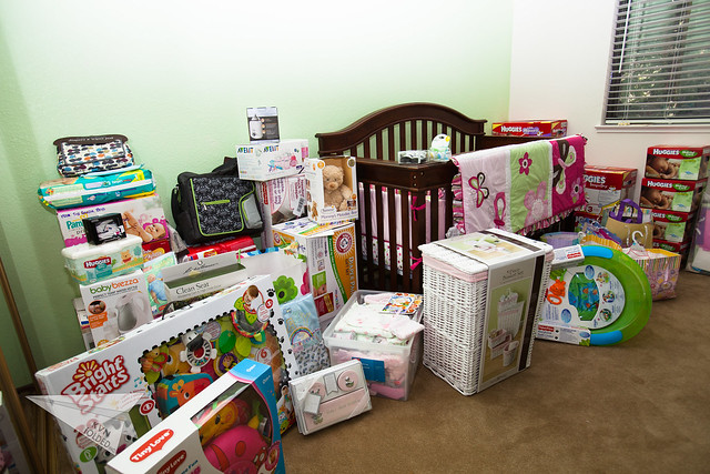 Baby Josie's gifts