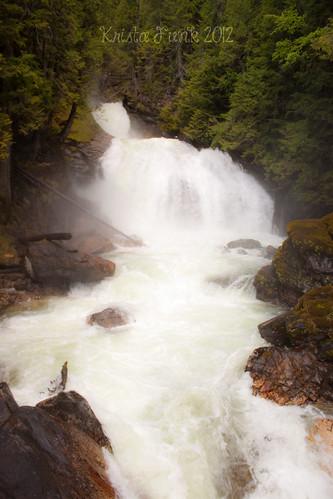 canada britishcolumbia waterfalls crazycreekfalls