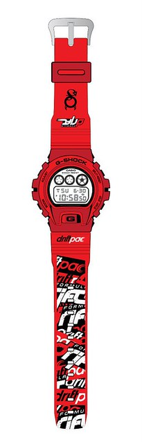 Formula Drift (Ken Gushi) X Casio G-Shock Collaboration - Alvinology